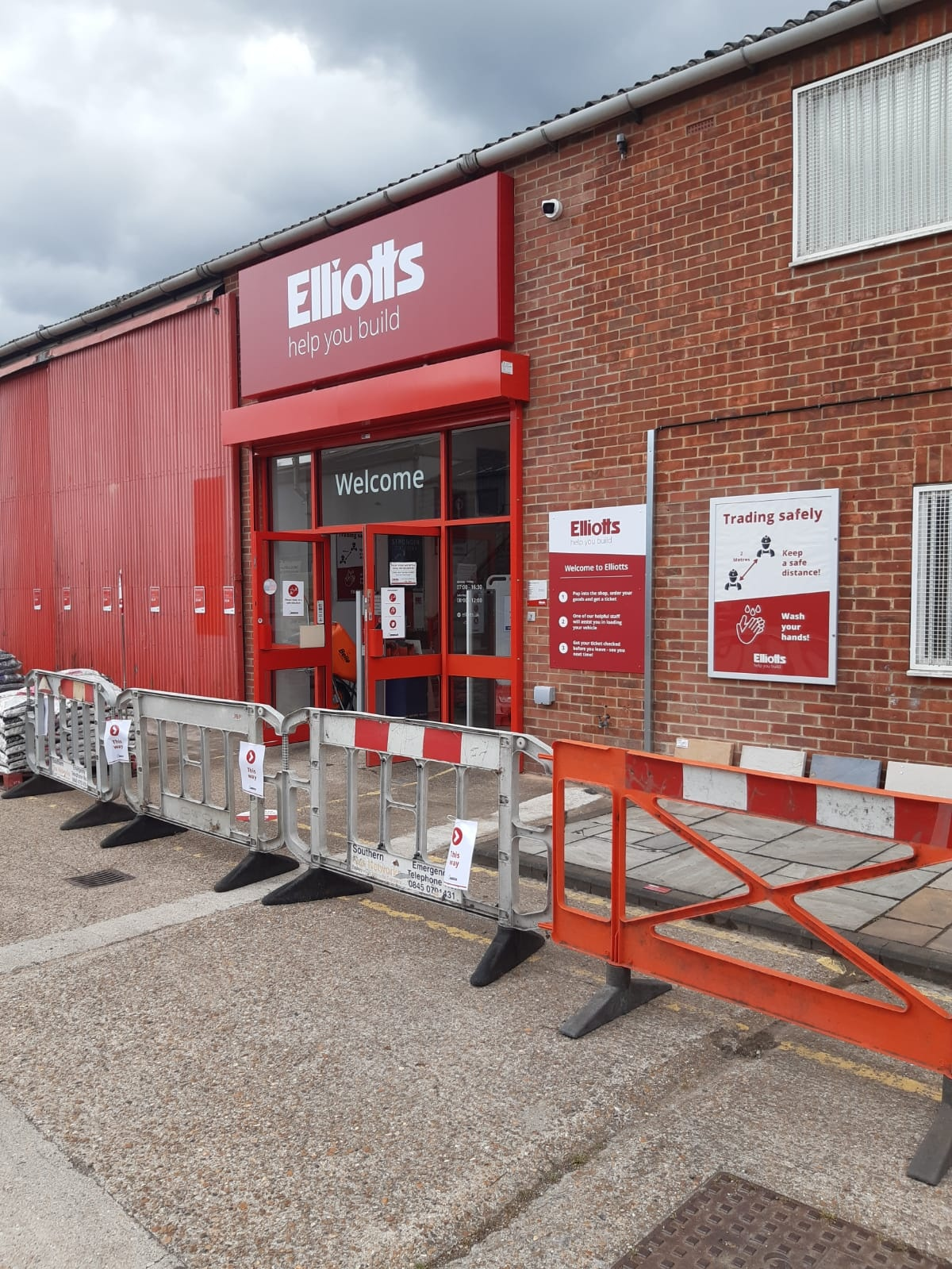 Elliotts Totton | Trading Safely