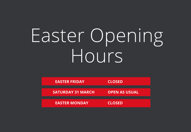 Easter opening hours at Elliotts