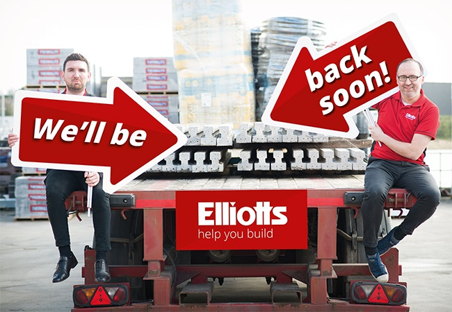 We'll Be Back Soon - Elliotts closure
