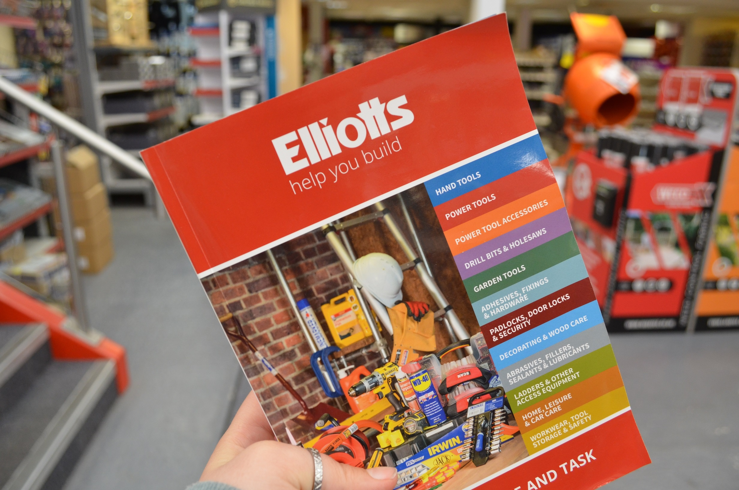 Tools brochure | Elliotts Builders Merchant