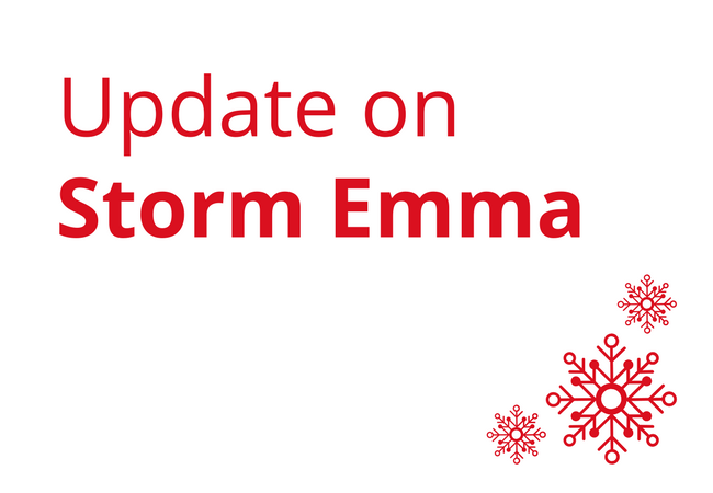 Update on Storm Emma