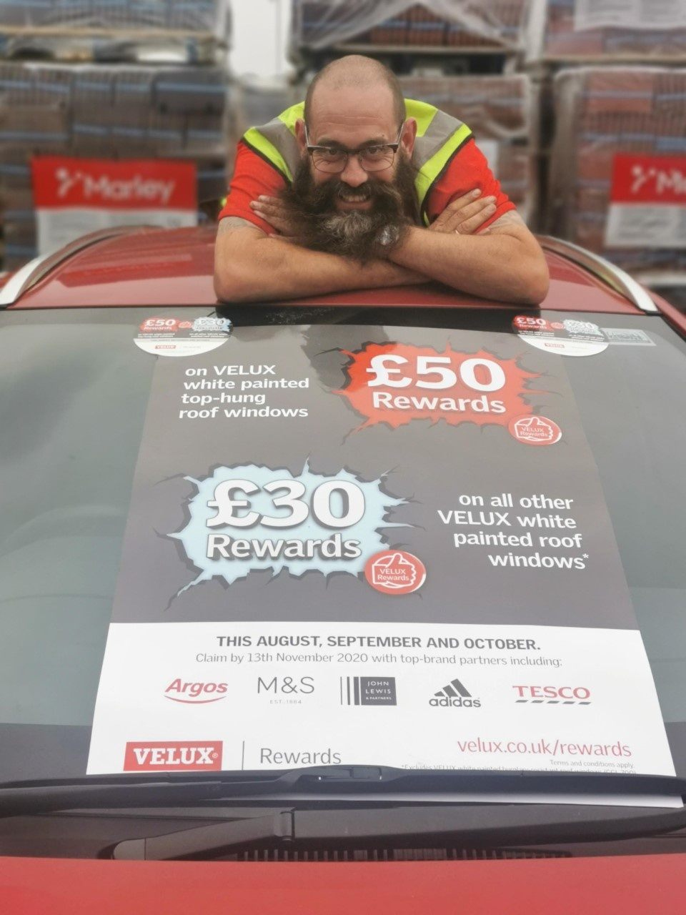 Paul Martin from Elliotts Christchurch and VELUX Rewards