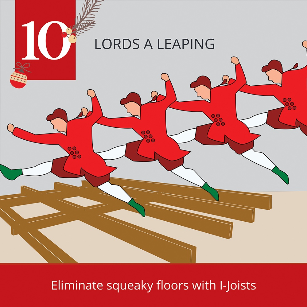 12 Days of Christmas-10 Lords a leaping
