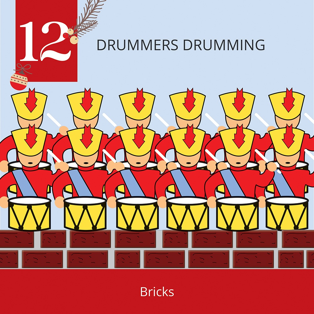 12 Days of Christmas-12 Drummers Drumming