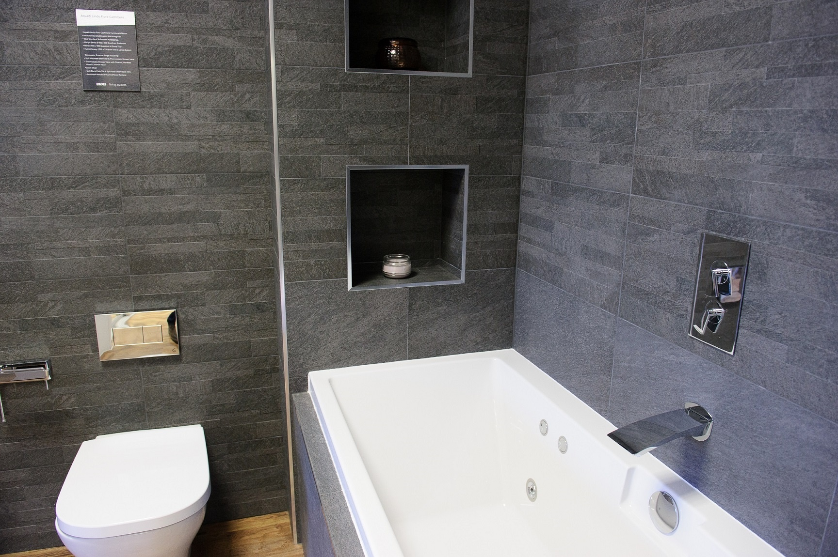 Bathroom shower alcove | Elliotts Living Spaces