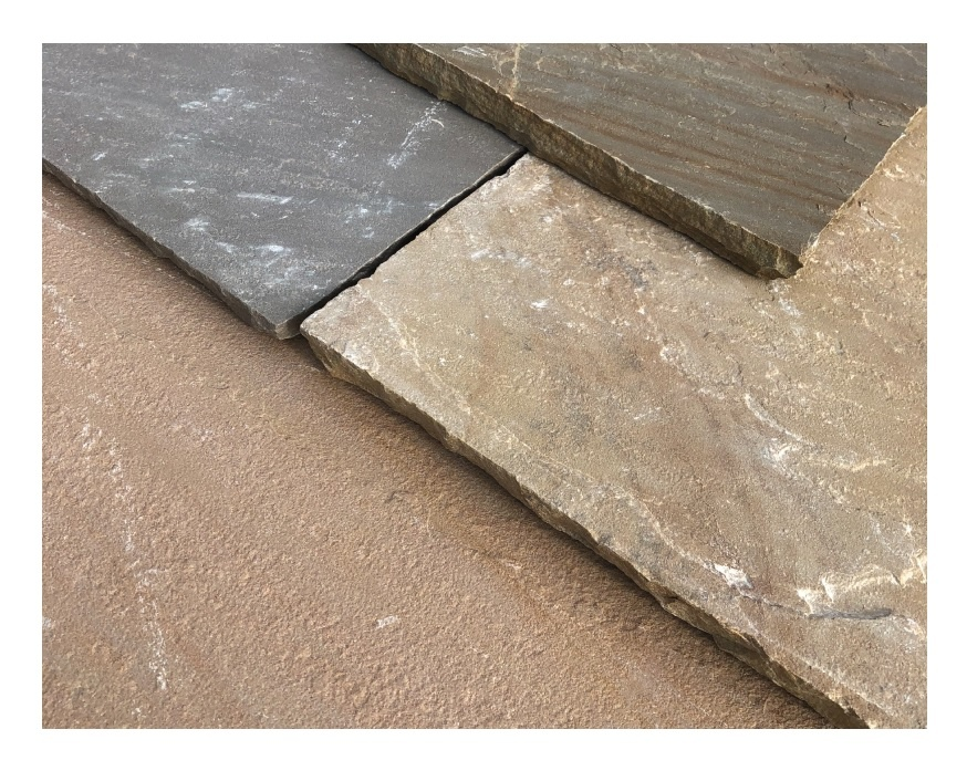 Sandstone paving - Country buff | Elliotts