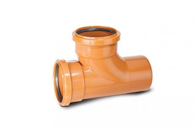 Underground Drain 110mm 87.5° Equal Junction Double Socket