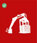 Your delivery of building materials will be off loaded by crane where possible