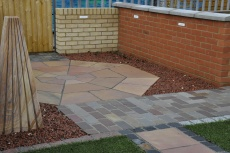 Romsey landscaping display