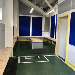 New changing room