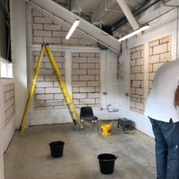 Transforming the changing room