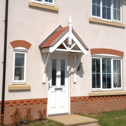 White casement windows - Crystal Direct