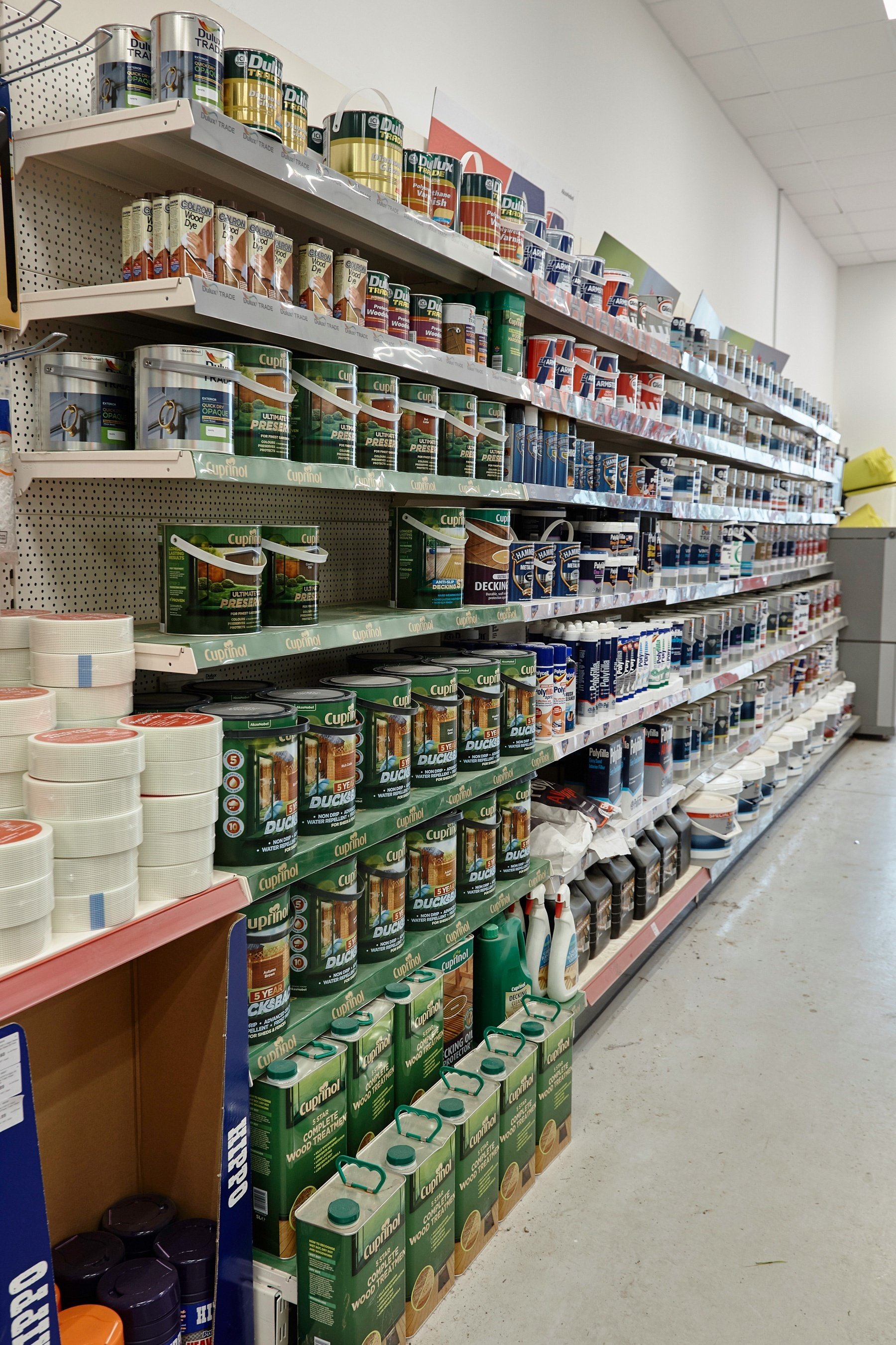 Paints Stains And Cleaners Elliotts Hampshire S