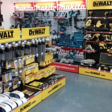 Tools at Elliotts Fordingbridge