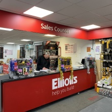Elliotts Ringwood - sales counter