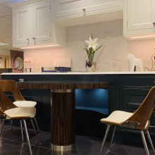 Stoneham kitchen at Lymington