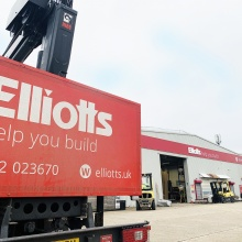 Elliotts Christchurch lorry