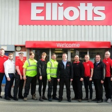 Soton team at Elliotts