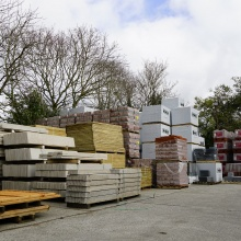 Large yard at our Tadley branch   Elliotts