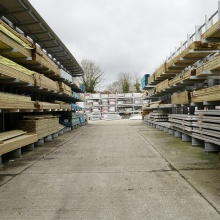 Timber yard at Elliotts Tadley