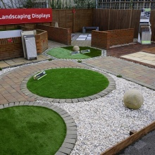 Namgrass artificial grass display | Elliotts Tadley