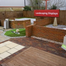 2020 landscaping display at Elliotts Tadley