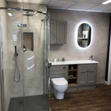 Bathroom display 3 - Fareham showroom