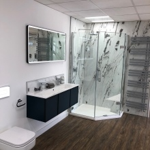 New bathroom bathroom display - Fareham showroom
