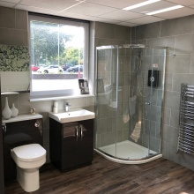 Bathroom display 2 - Fareham showroom